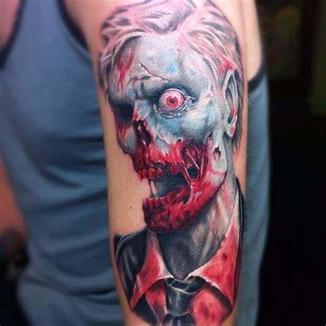 tattoo 3d zombie 42 unique horror tattoos