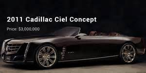Most Luxurious Cadillac 12 Most Expensive Priced Cadillac Cars List Successstory