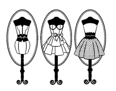Coloriage De Mannequins Pour Colorier Coloritou Com Coloriage Mannequin CoutureL
