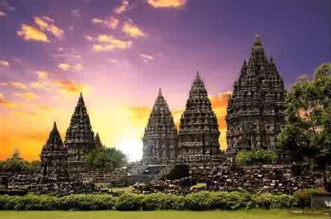tourist attraction prambanan temple  djogjakarta