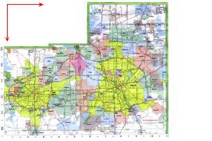 dallas fort worth map dallas usa mappery