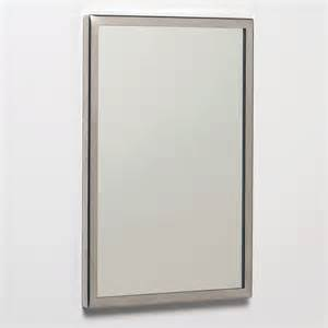 see all industries 30 quot h x 18 quot w framed mirror fr1830g