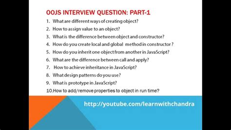 html design questions object oriented javascript interview questions for ui and
