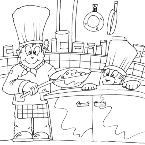 printable coloring pages kitchen kitchen room 35 buildings and architecture printable