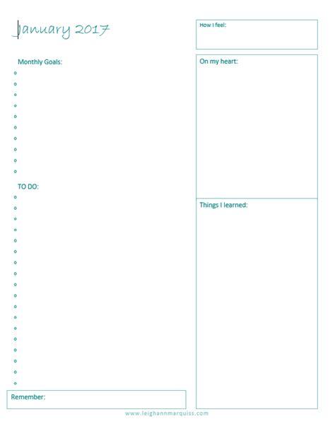 im making goalsand printable goal