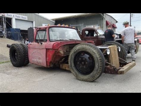 1961 ford f600 rat rod dually truck beatersville youtube