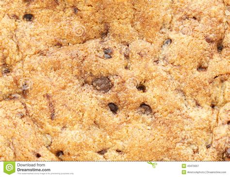Cracker Architecture texture of chocolate chip cookie stock photo image 43470057