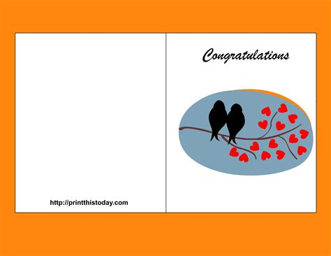 congratulations card templates gse bookbinder co