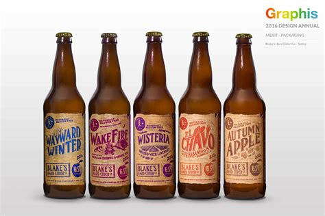 graphis design annual 2016 winners graphis design annual award winners blake s hard cider co