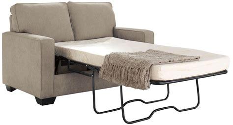 ashley zeb sofa sleeper zeb quartz twin sofa sleeper 3590237 ashley