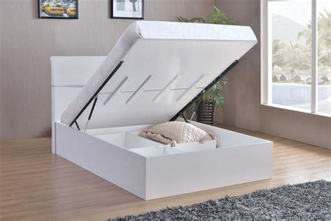 king size bed white white high gloss king size bed homegenies