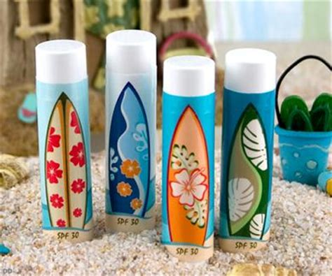lip balm surfer surf board lip balm favors