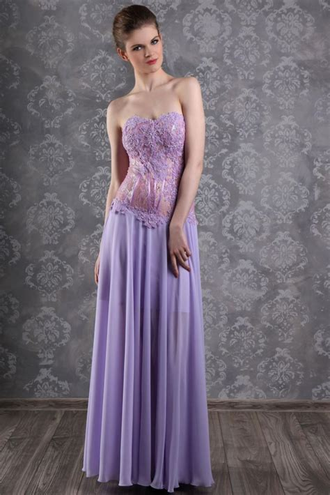 Abendkleider Ballkleider by Langes Abendkleid Ballkleid Silber Grau Kleiderfreuden