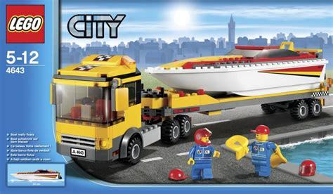 boat transport uk prices best deals on lego city 4643 power boat transport lego