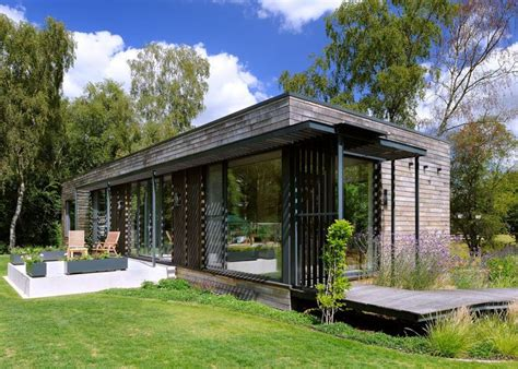 mobile home design uk mobile home gains permanence through carefully planned design