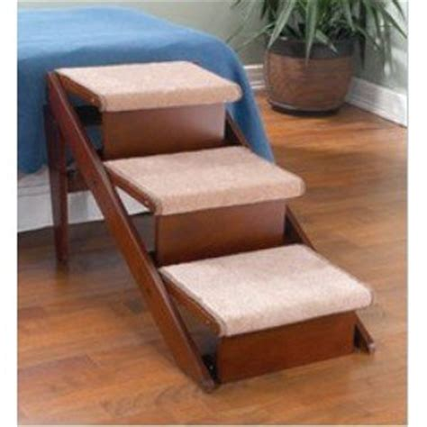 pet steps for bed amazon com fold away pet steps and r in one step