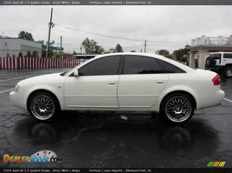 2004 audi a6 3 0 quattro 2004 audi a6 3 0 quattro sedan arctic white beige photo