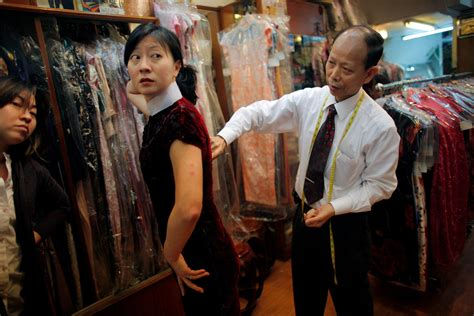 Cheongsam Jumbo Dress shopping for a cheongsam in hong kong the new york times