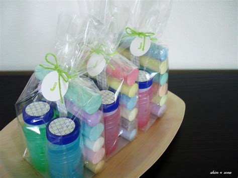 Handmade Giveaways For Birthday - shim sons birthday parties