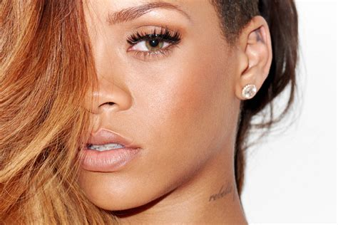 by terry eyes cheeks rihanna photoshoot by terry richardson