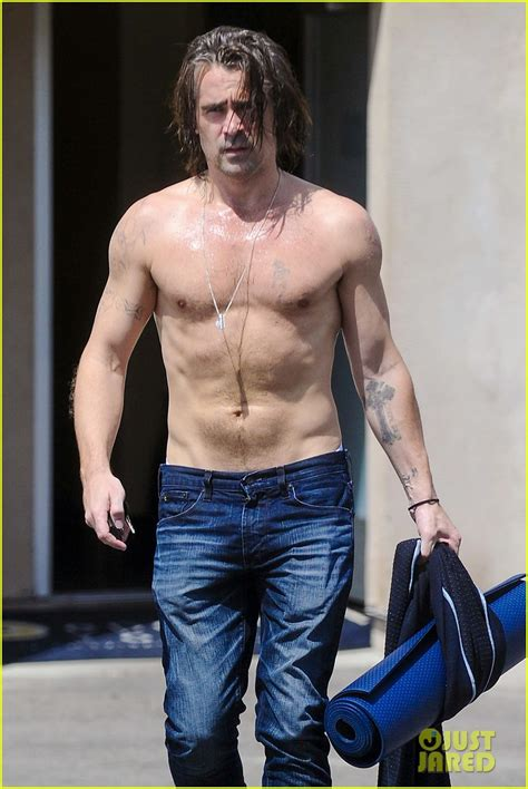 colin farrell hot the gallery for gt colin farrell shirtless total recall