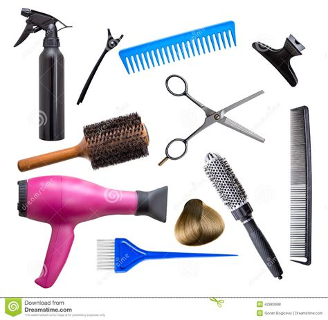 Hair Dresser Tools by Hairdresser Equipment Stock Photo Image Of Curlers