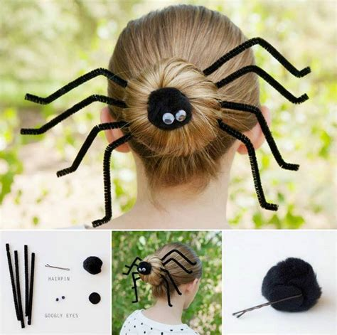 image gallery spider hairstyles wonderful diy spider bun hairstyle