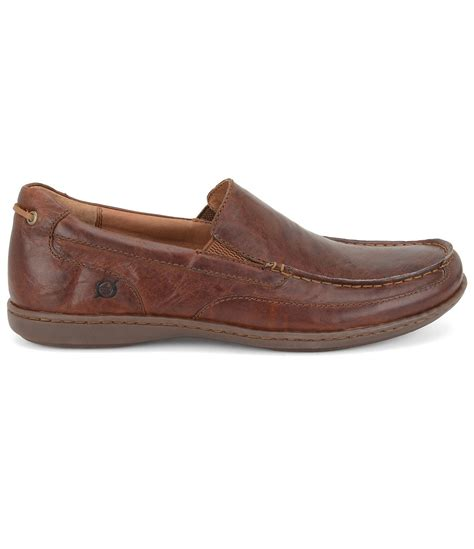 born loafers born paine s loafers in brown for brown lyst