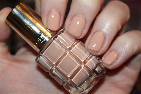 Hair Manicure Loreal l oreal color riche l huile nail varnish swatches