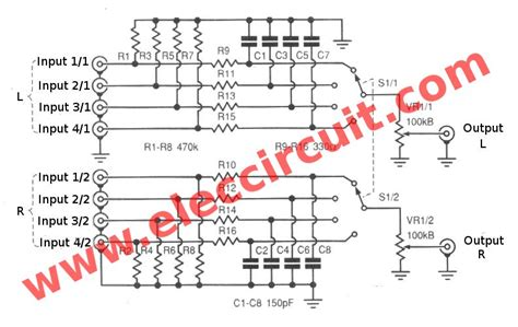 analog signal selector switch eleccircuit