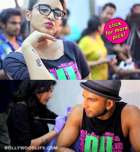 ali zafar tattoo ranveer singh parineeti chopra and ali zafar get inked