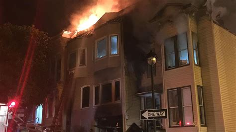 san francisco firefighters battle 4 alarm abc7news