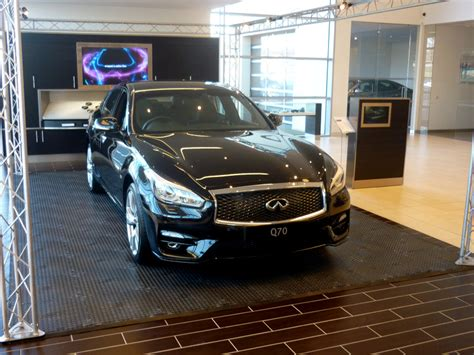 infiniti cars glasgow to infiniti cars and beyond for duramat uk recycled pvc