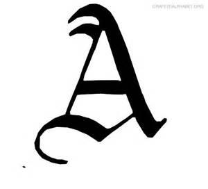 graffiti alphabet a graffiti letter a printables