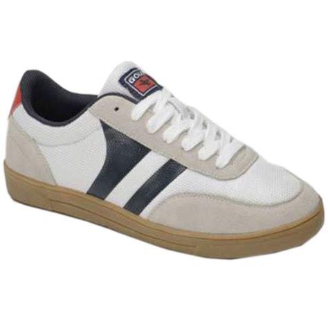 gum sole sneakers mens gola leather skate retro classic baseball lace gum