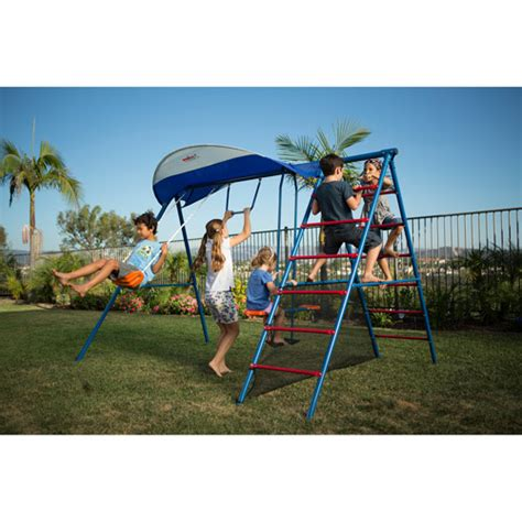 ironkids swing sets ironkids inspiration 100 metal swing set with ladder