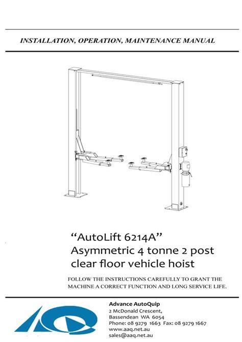 2 post lift wiring diagrams wiring diagram schemes