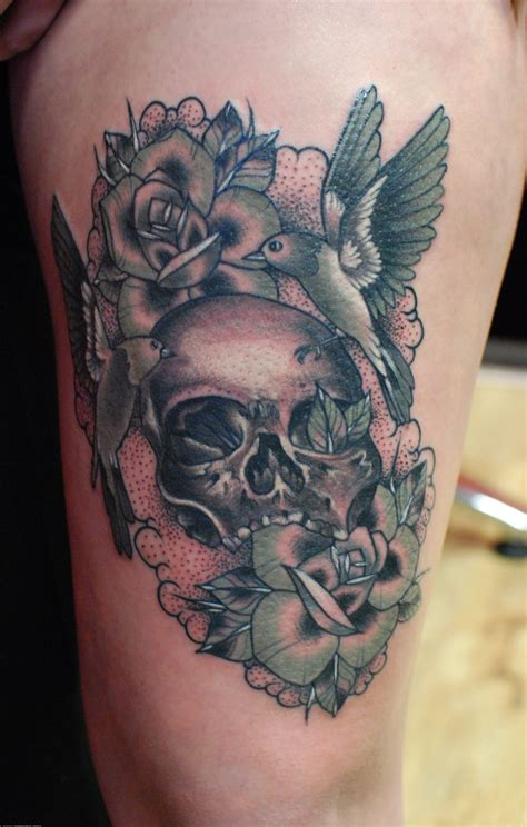 thigh piece tattoos hammersmith leg thigh jpg artists org