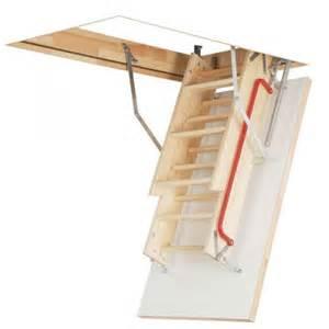 Folding Handrail Optistep Ole 60cm X 120cm Wooden Loft Ladder Amp Hatch H Up
