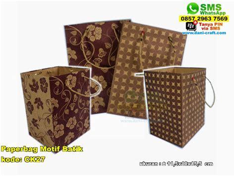 Paper Bag Bunga Murah 2845 paperbag motif batik souvenir pernikahan