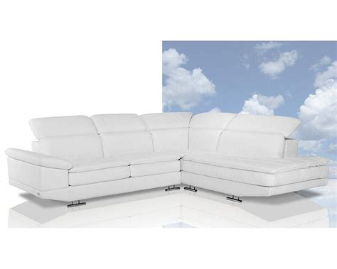 white italian leather sectional sofa italian white leather sectional sofa 44l6010