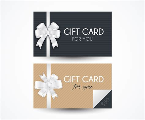 What You Want Gift Card Template by Gift Card Templates Vector Graphics Freevector