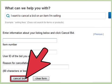ebay bid how to cancel an ebay bid as a buyer or seller