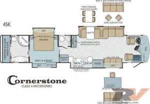 Motorhome Floor Plans Class A by Class A Rv Floor Plans Viewing Gallery