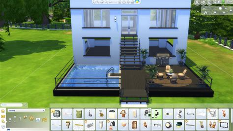 make house the sims 4 how to build a simple modern house
