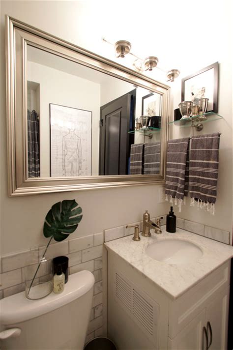 houzz black and white bathroom my houzz classic black and white design in a chicago