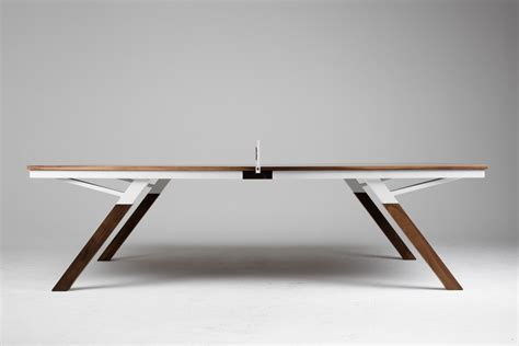 designer ping pong table wood would wood the most gorgeous