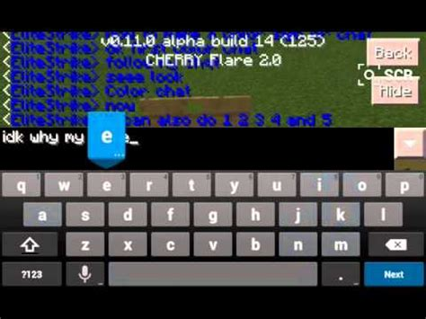 minecraft color chat minecraft pe how to make a color sign and chat
