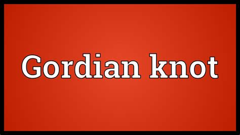 knot define knot at dictionarycom knot definition of knot by the free dictionary gordian