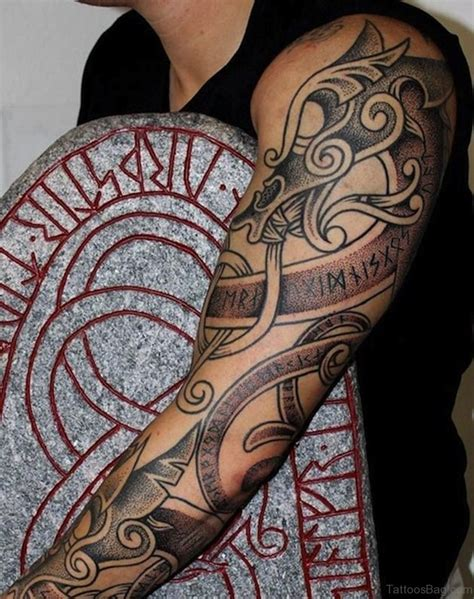 tattoo dragon celtic 52 magnificent dragon tattoos on full sleeve